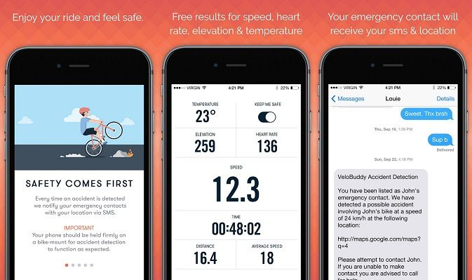 Bike Computer App by Venikom