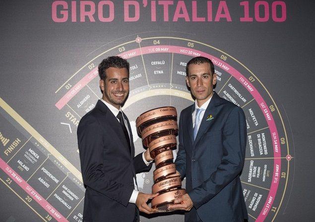 Fabio Aru and Vincenzo Nibali