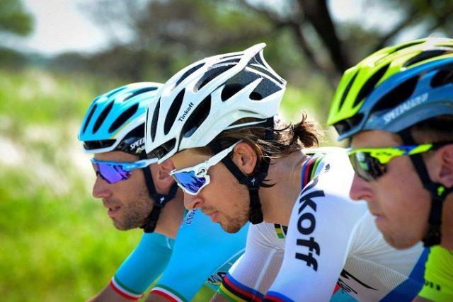 Peter Sagan and Vincenzo Nibali