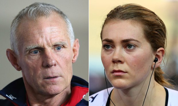 Shane Sutton and Jess Varnish