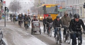 cyclists in denmark