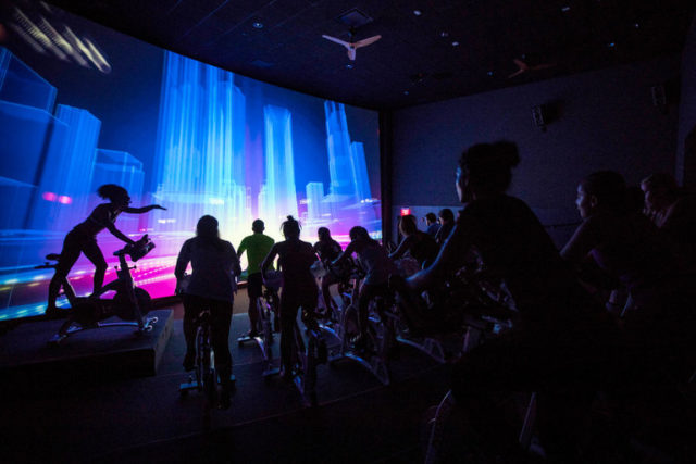 Spinning Goes to the Movies at Imax