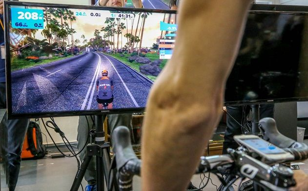 zwift training indoor