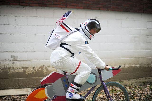 bicycle dinosaur for halloween
