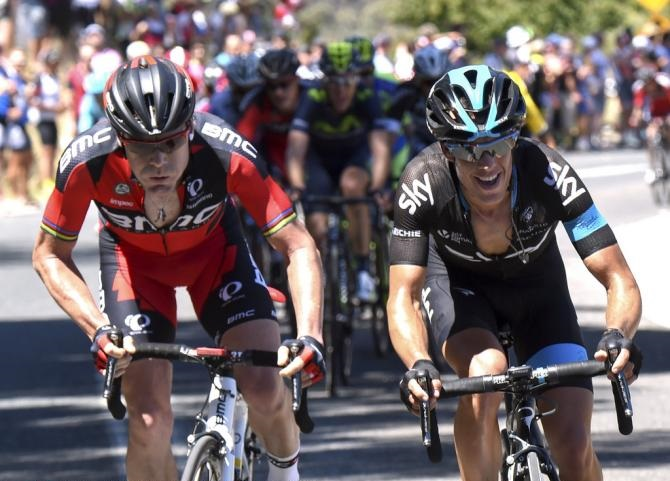 Cadel Evans and Richie Porte