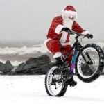 christmas cycling