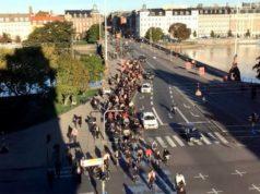 Copenhagen rush hour