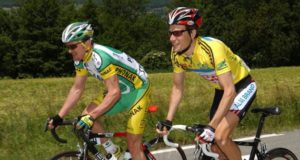 Floyd Landis and David Zabriskie