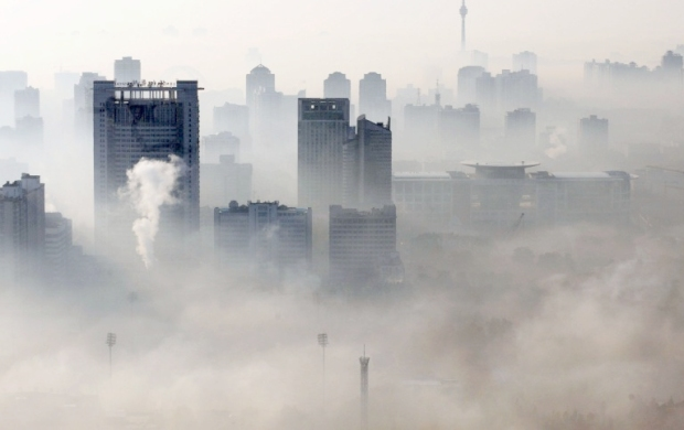Polluted cities cycling