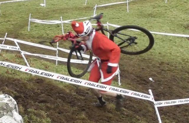 Santa cyclo-cross