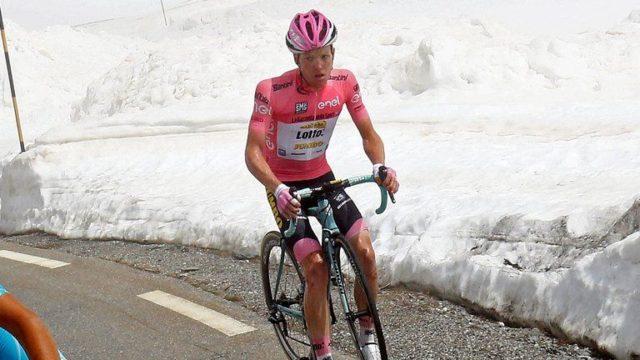 Steven Kruijswijk giro crash