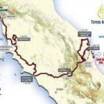 Tirreno Adriatico 2017 route 2