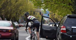 dooring cyclist