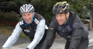 phil liggett and lance armstrong