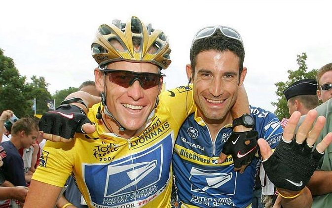 Armstrong and Hincapie