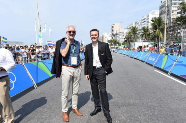 David Lappartient and Brian Cookson