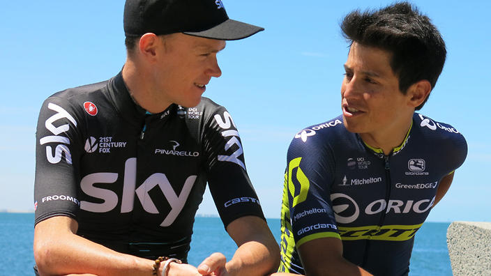 Froome and Chaves