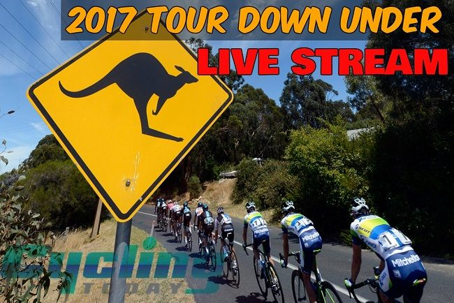 Tour Down Under 2017 LIVE STREAM
