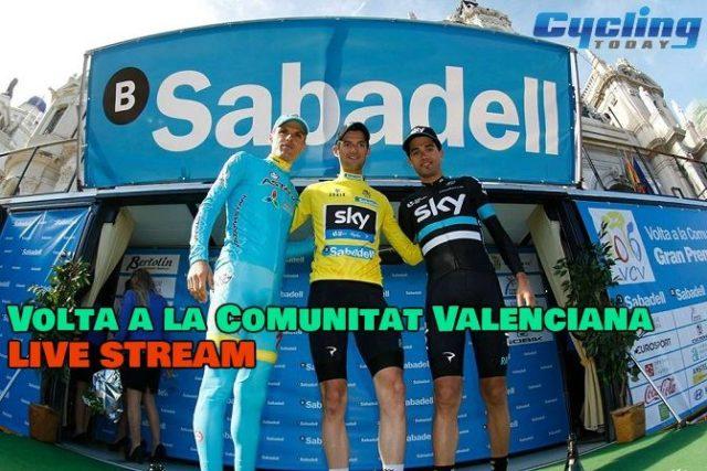 Volta a la Comunitat Valenciana LIVE STREAM