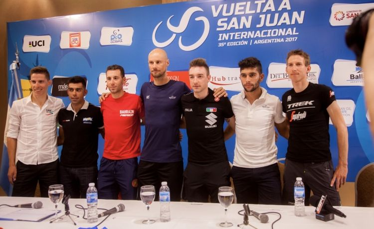 The stars outline their goals for the Vuelta a San Juan