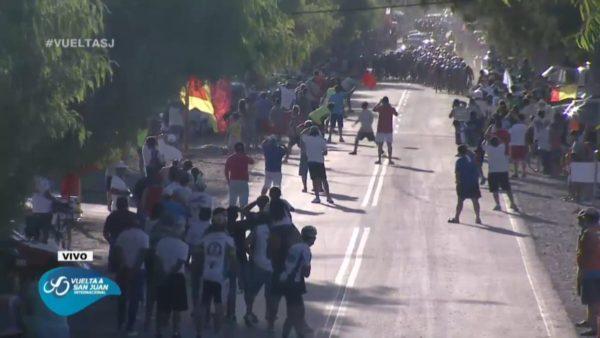 Vuelta a San Juan chaos