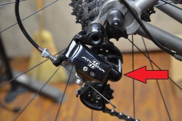 adjust derailleurs bicycle