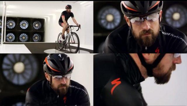 beard cyclist