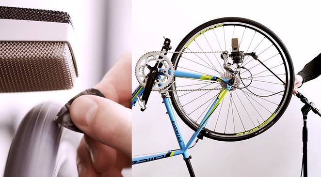 bicycle music instrument