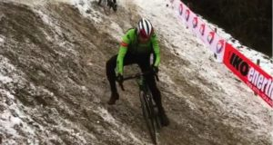 cyclo cross course icy