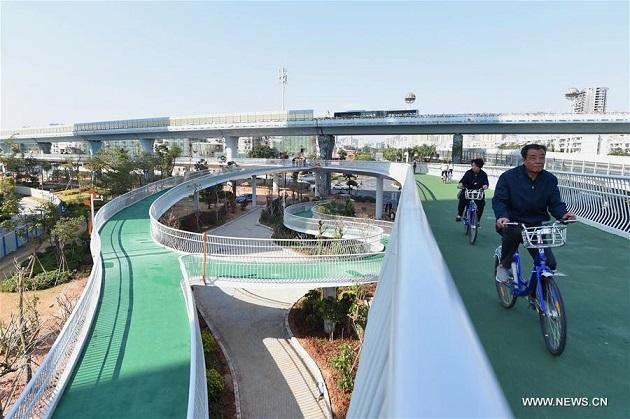 bike path china