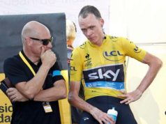 Chris Froome and Dave Brailsford