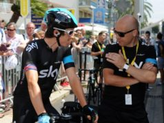 Dave Brailsford and Geraint Thomas