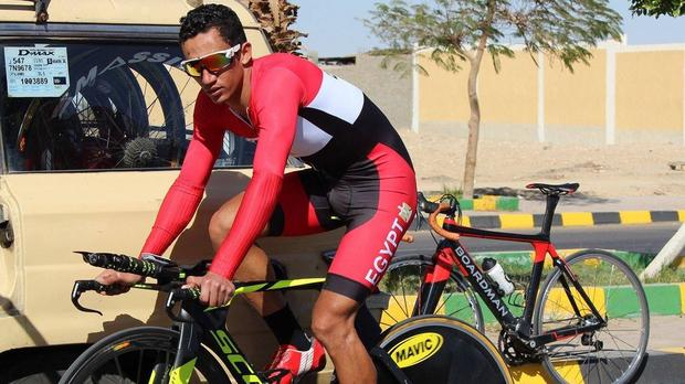 Egyptian cyclist dies during track race