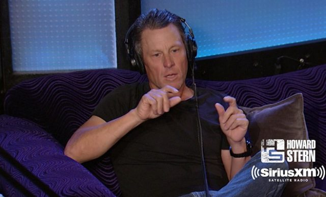 Lance Armstrong on Howard Stern 2017