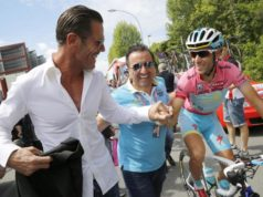Mario Cipollini and Vincenzo Nibali
