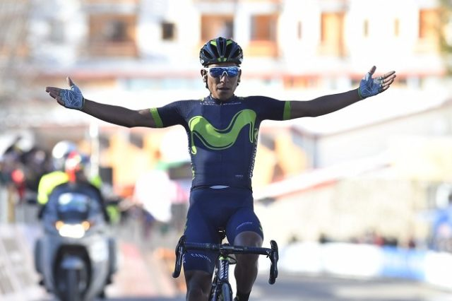 Nairo Quintana tirreno 2017
