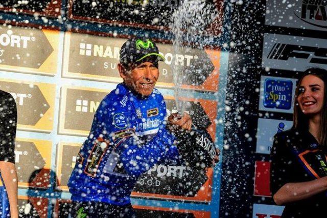 Nairo Quintana wins Tirreno Adriatico 2017