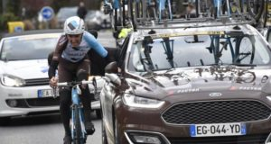 Romain BArdet car tow paris nice 2017