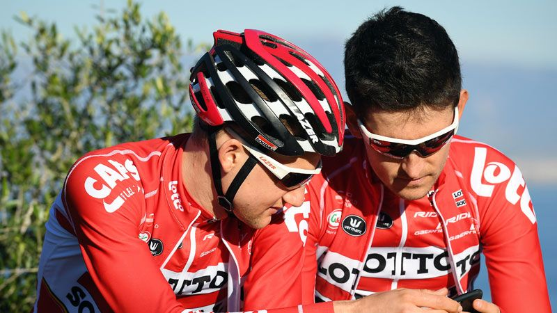 Tiesj Benoot and Tim Wellens