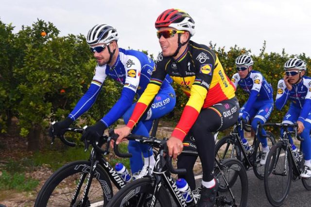 Tom Boonen and Philippe Gilbert