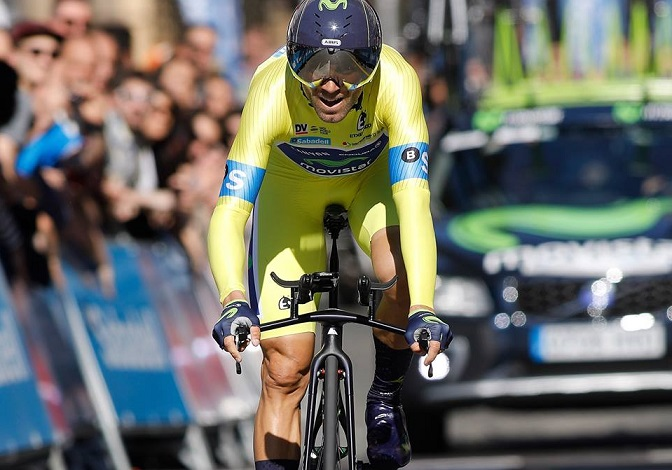 Alejandro Valverde pais vasco 2017 time trial