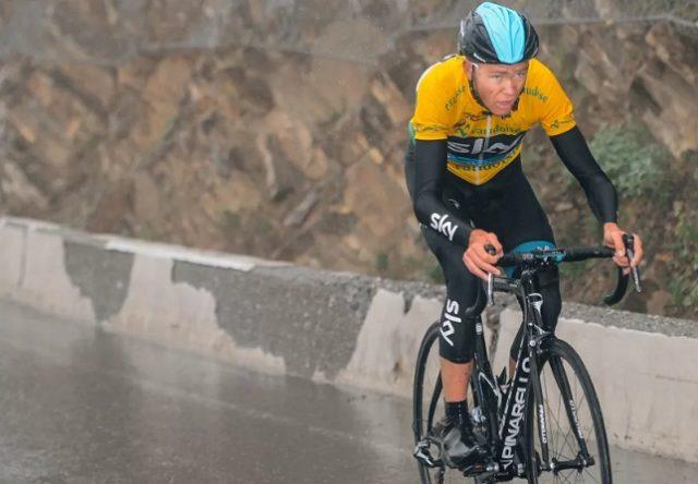 Chris Froome Tour de Romandie