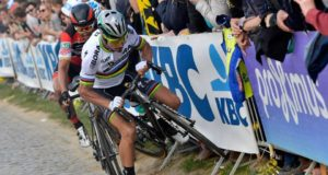 Sagan crash tour of flanders