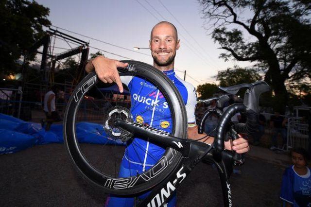 Tom Boonenn disc brakes