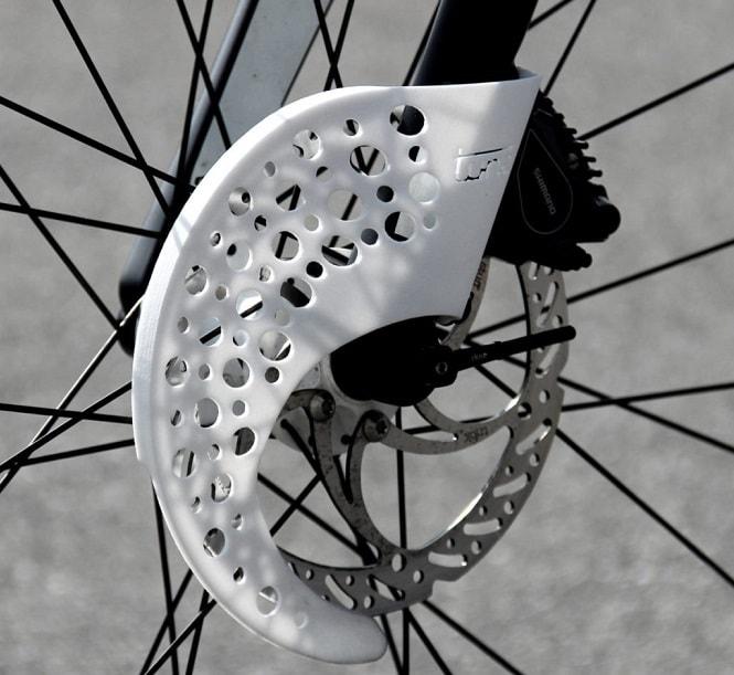 Tune disc brake cover
