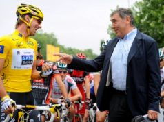 Eddy Merckx and Fabian Cancellara