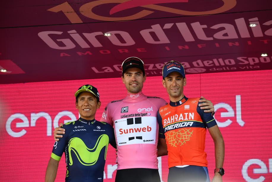 Giro 2017 podium