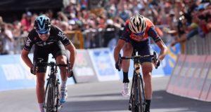Mikel Landa and Vincenzo Nibali stage 16 giro 2017