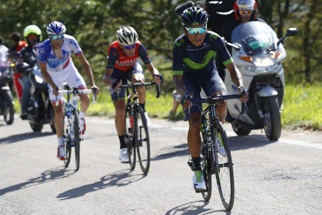 Quintana Pinot Nibali giro 2017
