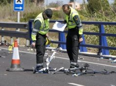 cyclist hit head-on by drunk driver in spain